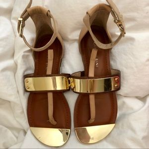 Gianni Bini Sandals with gold plating